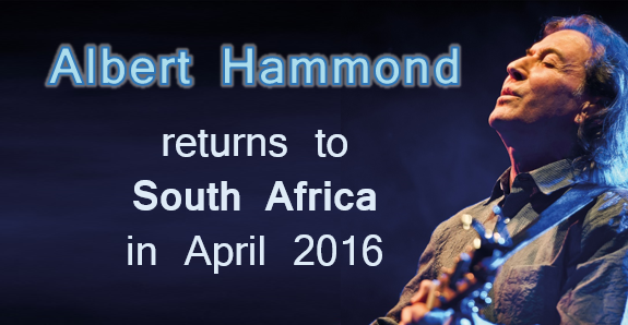 Albert Hammond: April 2016