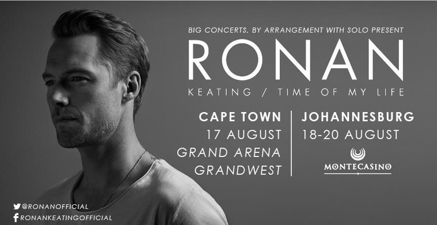 Ronan Keating: August 2016