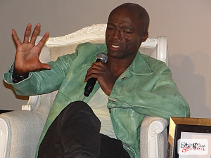 Seal talks to Stage and Screen
