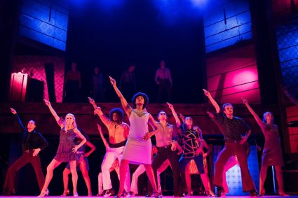 Saturday Night Fever, Amazing Set Design by Denis Hutchinson