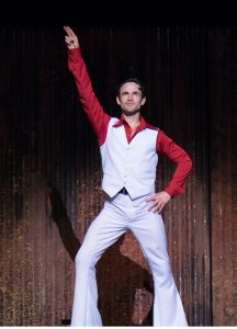 Daniel Buys as Tony Manero in Saturday Night Fever