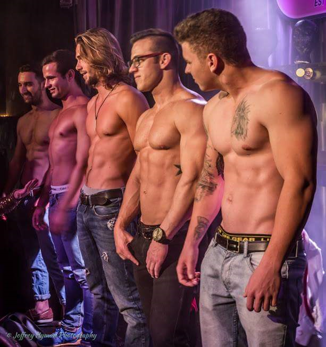 The Waiters at Beefcakes