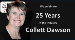 We Celebrate with Collett Dawson