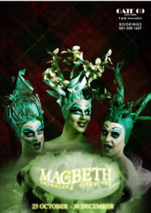 The Trolley Dollies in Macbeth, The Adult Panto