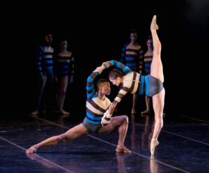 Cape Dance Company's Lwando Dutyulwa and Olivia Parfitt in Interplay's Visceral