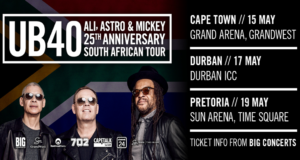 Win Tickets to UB40 in Pretoria