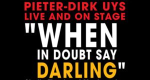 When in doubt say Darling
