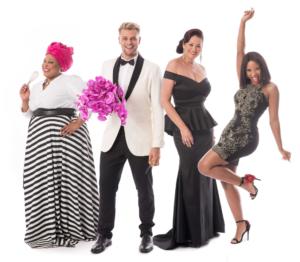 The new Bashers Look: Zola Nene, Zavion Kotze, Bernelee Daniell Denise Zimba