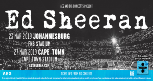 Ed Sheeran *Extra Show Added*: March 2019