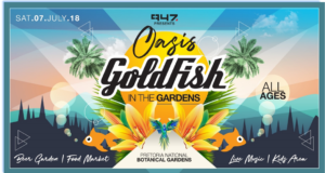 Goldfish: July 2018