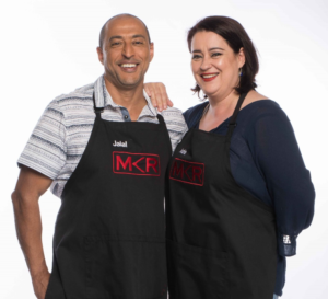 Jalal and Adrie of My Kitchen Rules SA