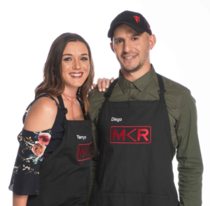 Tarryn and Diego of My Kitchen Rules SA