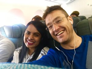 Louw Mulder and Nadine Moonsamy