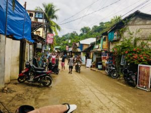 The streets of El Nido