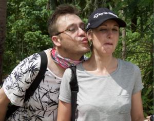 Louw Mulder and Marisa Fockema from HuisGenoot