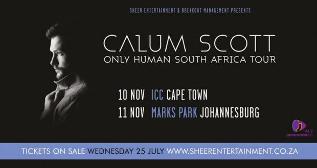 Win Tickets to Calum Scott in SA