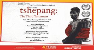 Tshepang: The Third Testament