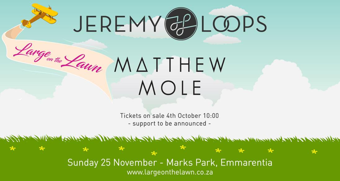 Jeremy Loops and Matthew Mole: November 2018