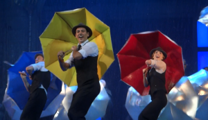Grant Almirall and the Cast of Singin' in the Rain