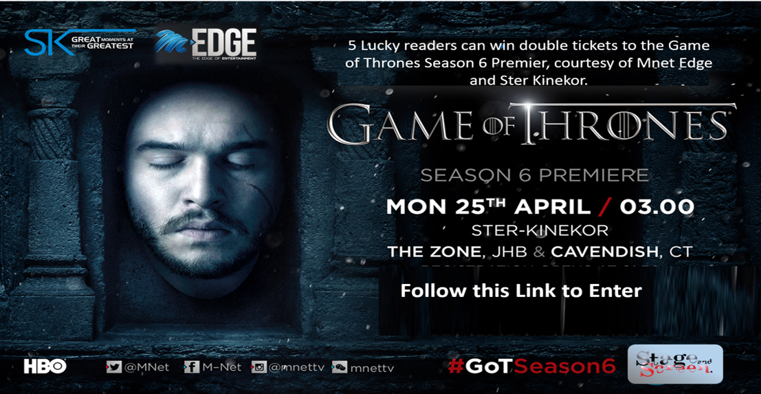 Come see Game of Thrones on the Big Screen