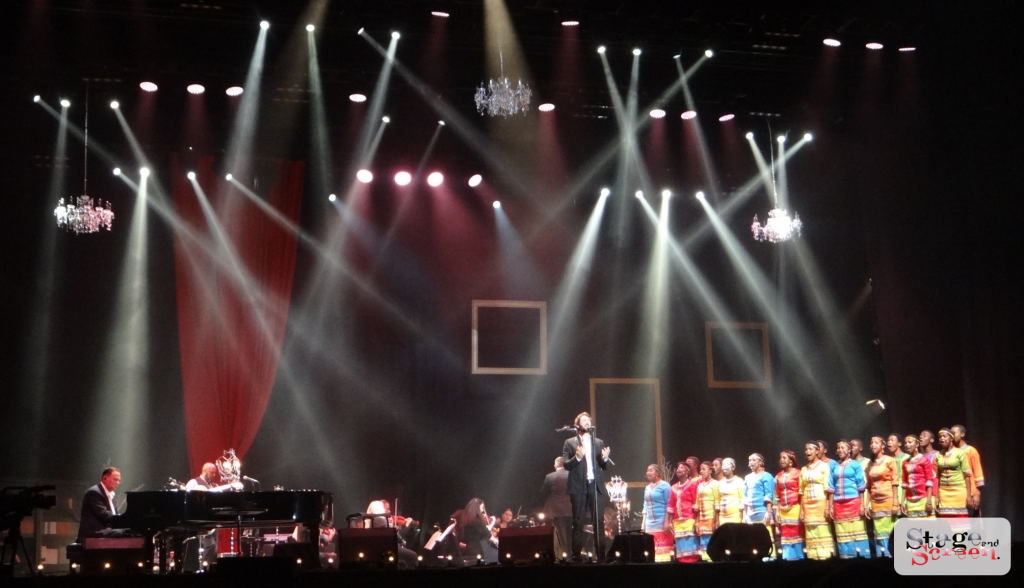 Josh Groban, with the Johannesburg Festival Orchestra and the Mzansi Youth Choir
