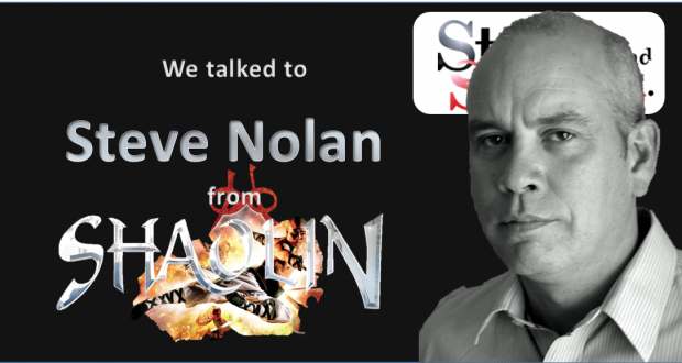 We talk to Steve Nolan