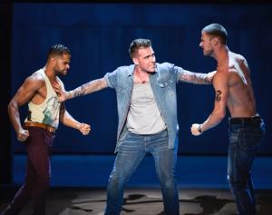 L-R: Chris Jaftha as Bernardo, Jonathan Roxmouth as Tony and Sven-Eric Muller as Diesel