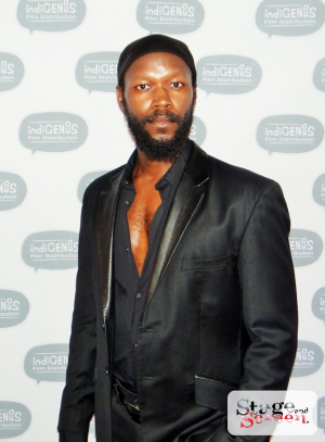 Charlie Vundla at the Premiere of The Tribe