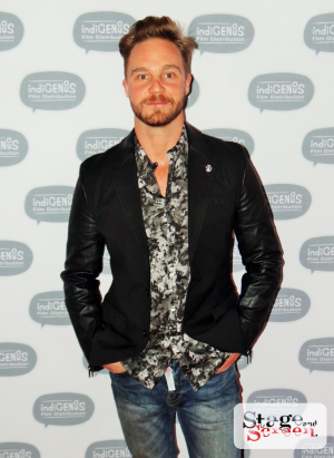 Louis Roux at the Premiere of The Tribe