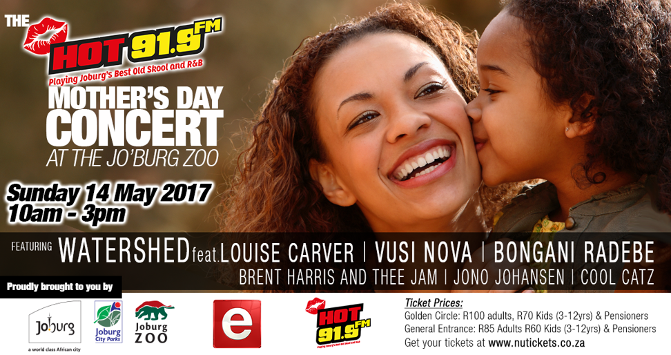 HOT 91.9 Fm: Mother's Day Concert