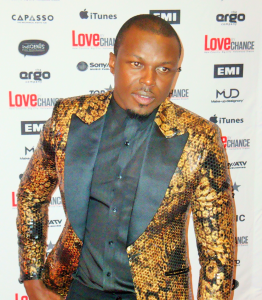 Nicholas Nkuna at the Premiere of Love by Chance