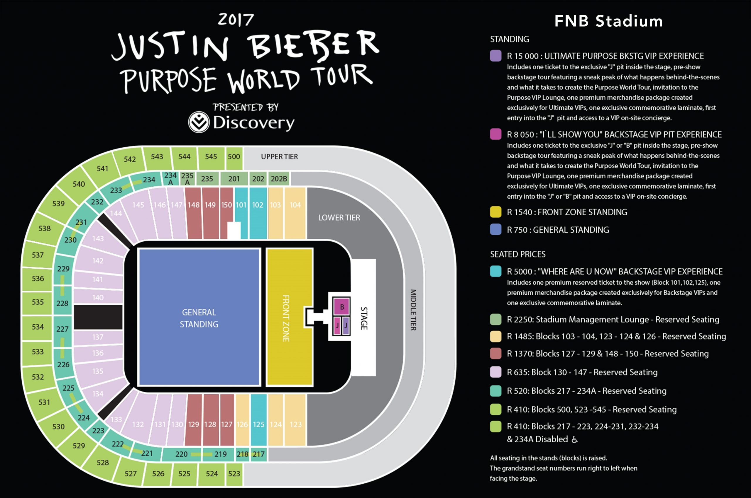 All You Need To Know For The Justin Bieber Concert In