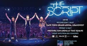 Win Tickets to The Script in Pretoria