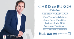 Chris de Burgh: March 2018