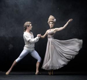 Daniel Szybkowski as Mozart, Photo by Michael Groenewald