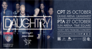 Daughtry: October 2018