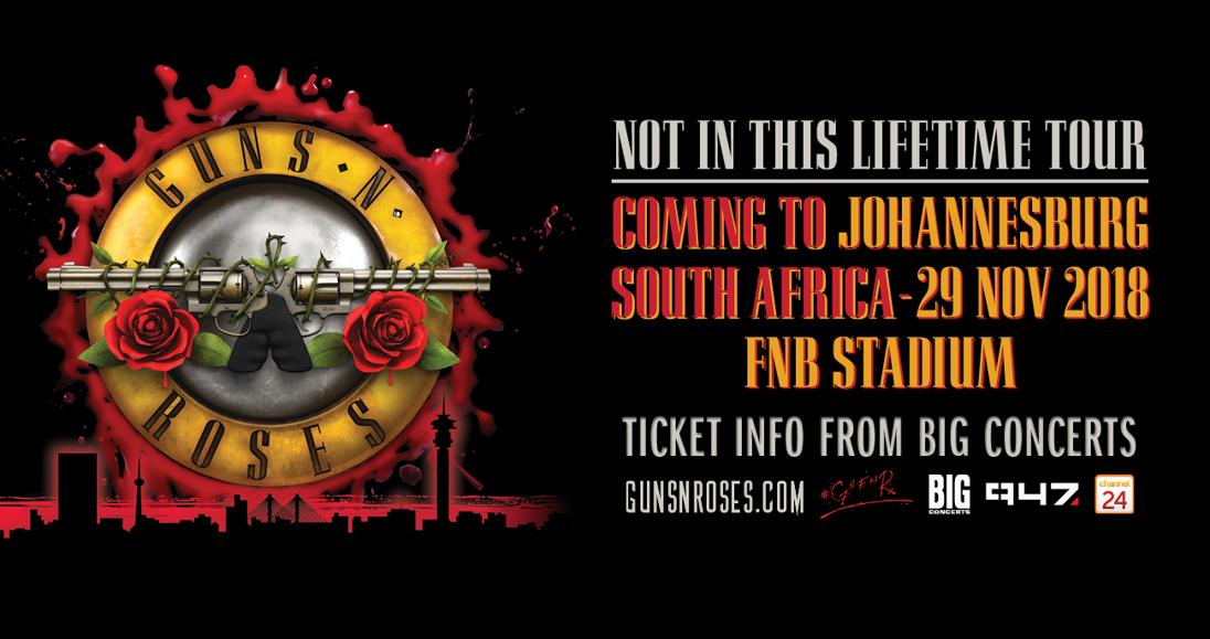 Guns N' Roses: November 2018