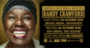 Randy Crawford: Cancelled