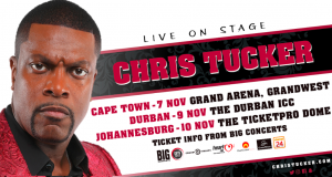 Win Tickets to Chris Tucker in Durban