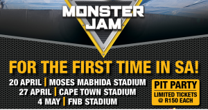 Win Tickets to Monster Jam… and their Famous Pit Parties