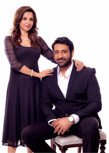 Lillette Dubey and Rahul Brijnath