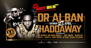 Win tickets to Dr Alban and Haddaway