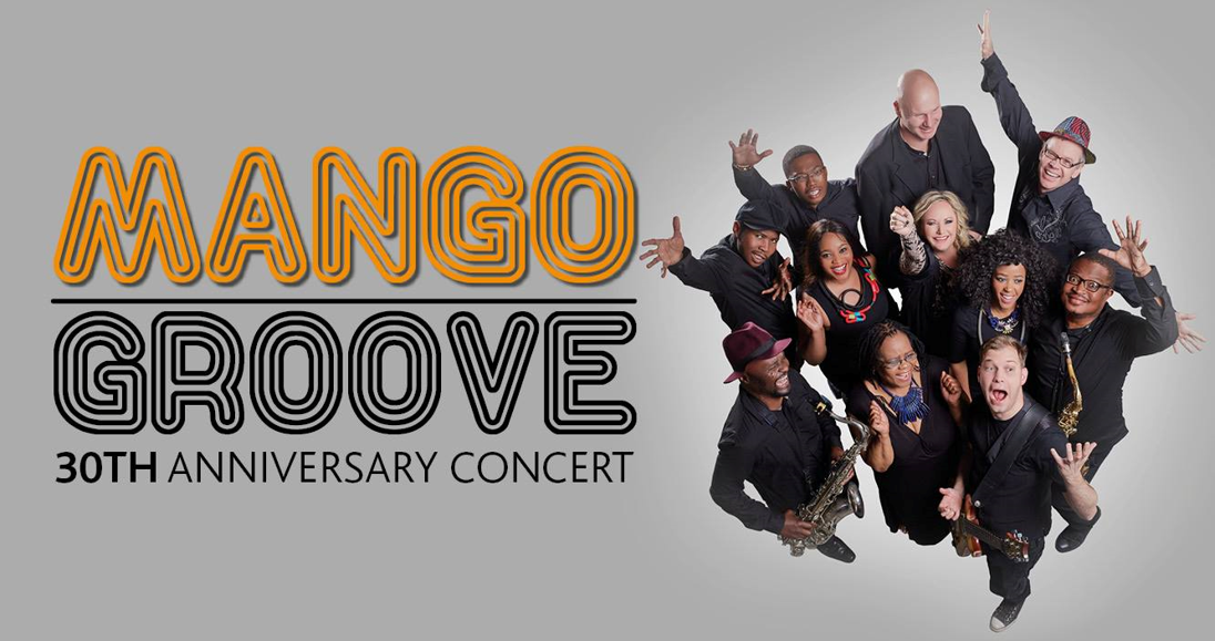 Mango Groove 30th Anniversary Concert: March 2019