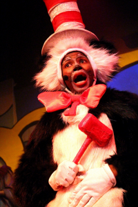 Katlego Nche as The Cat in The Hat