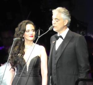 Andrea Bocelli and Maria Aleida