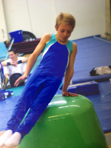 Little Mr Sven, the 8 year old Gymnast