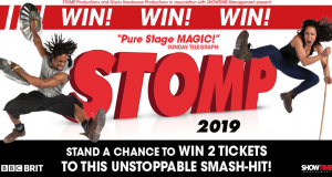 Win Tickets to Stomp