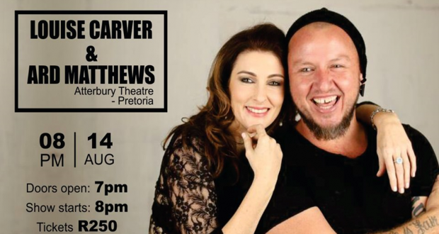Louise Carver and Ard Matthews Live