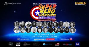 Die Superhero Superstêrre Showcase
