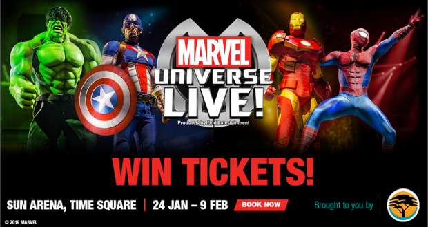 Win Tickets to Marvel Universe Live